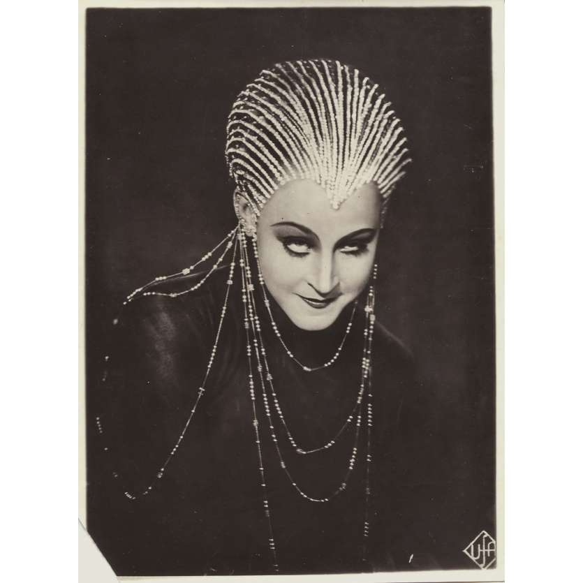METROPOLIS Original Movie Still N01 - 6,7x9 in. - 1927 - Fritz Lang, Brigitte Helm