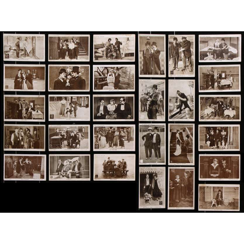 CHARLIE CHAPLIN RED LETTER Cartes Postales x29 - 10x15 cm. - 1917 - Charlot, Charles Chaplin
