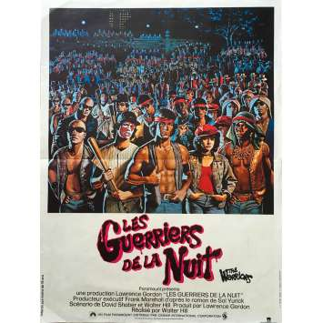 GUERRIERS DE LA NUIT Affiche 40x60 FR '79 Walter Hill, Warriors