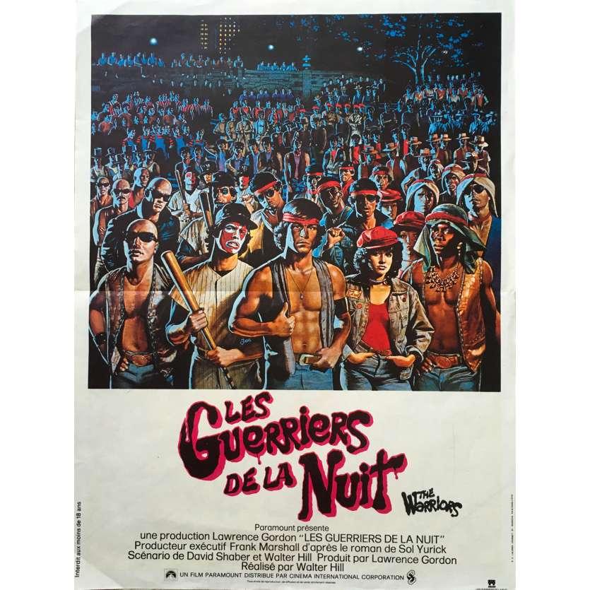 GUERRIERS DE LA NUIT Affiche 40x60 FR '79 Walter Hill, Warriors