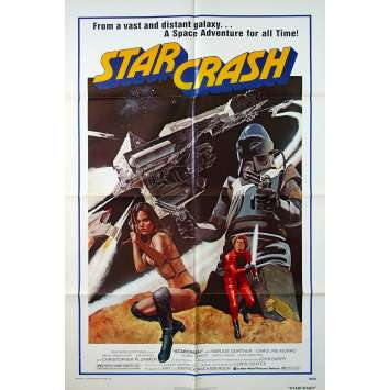 STARCRASH Original Movie Poster - 27x40 in. - 1978 - Luigi Cozzi, Caroline Munro