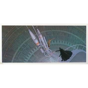 STAR WARS - L'EMPIRE CONTRE ATTAQUE Artwork N24 - 25x53 cm. - 1980 - Harrison Ford, George Lucas