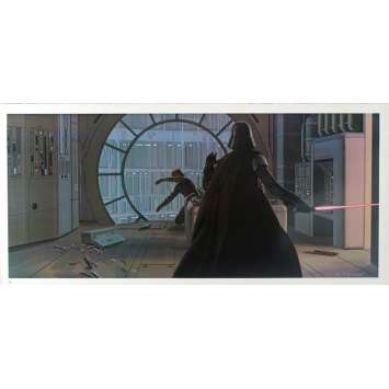 STAR WARS - EMPIRE STRIKES BACK Artwork Print N22 - 10x21 in. - 1980 - George Lucas, Harrison Ford