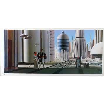 STAR WARS - L'EMPIRE CONTRE ATTAQUE Artwork N20 - 25x53 cm. - 1980 - Harrison Ford, George Lucas