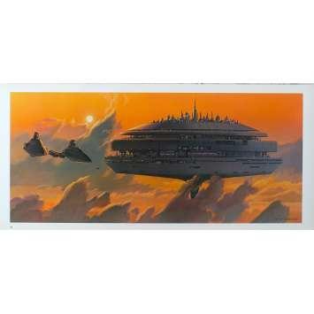 STAR WARS - L'EMPIRE CONTRE ATTAQUE Artwork N18 - 25x53 cm. - 1980 - Harrison Ford, George Lucas