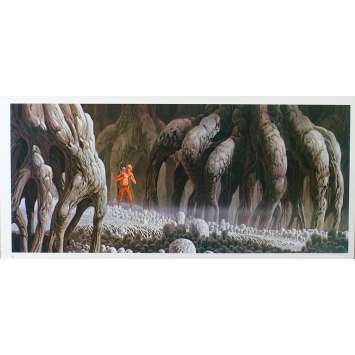 STAR WARS - L'EMPIRE CONTRE ATTAQUE Artwork N17 - 25x53 cm. - 1980 - Harrison Ford, George Lucas