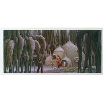 STAR WARS - L'EMPIRE CONTRE ATTAQUE Artwork N16 - 25x53 cm. - 1980 - Harrison Ford, George Lucas