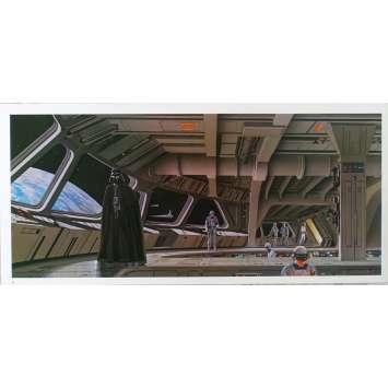 STAR WARS - L'EMPIRE CONTRE ATTAQUE Artwork N14 - 25x53 cm. - 1980 - Harrison Ford, George Lucas