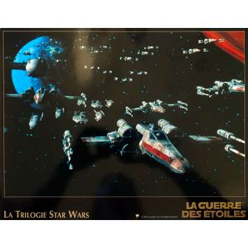 STAR WARS TRILOGIE Photo de film N06 - 24x30 cm. - 1997 - Harrison Ford, Carrie Fisher, George Lucas