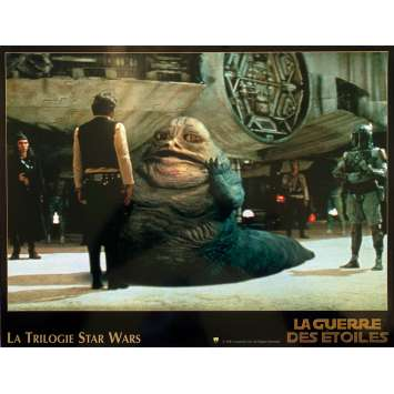 STAR WARS TRILOGY Lobby Card N05 - 10x12 in. - 1997 - George Lucas, Harrison Ford, Carrie Fisher