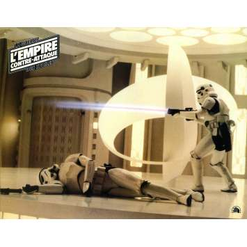 STAR WARS - EMPIRE STRIKES BACK Lobby Card N11 - 9x12 in. - 1980 - George Lucas, Harrison Ford