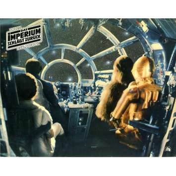 STAR WARS - EMPIRE STRIKES BACK Lobby Card N01 - DE - 9x12 in. - 1980 - George Lucas, Harrison Ford