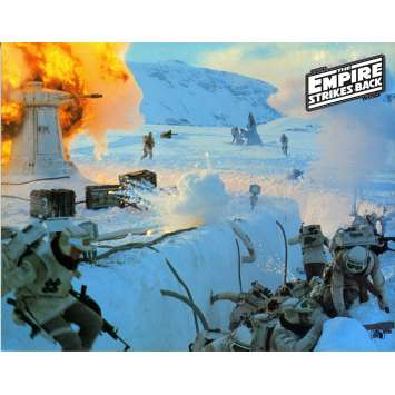 STAR WARS - L'EMPIRE CONTRE ATTAQUE Photo de film N08 - EN - 21x30 cm. - 1980 - Harrison Ford, George Lucas