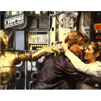 STAR WARS - EMPIRE STRIKES BACK Lobby Card N12 - 9x12 in. - 1980 - George Lucas, Harrison Ford