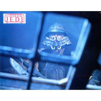 STAR WARS - THE RETURN OF THE JEDI Lobby Card N01 - DE - 9x12 in. - 1983 - Richard Marquand, Harrison Ford