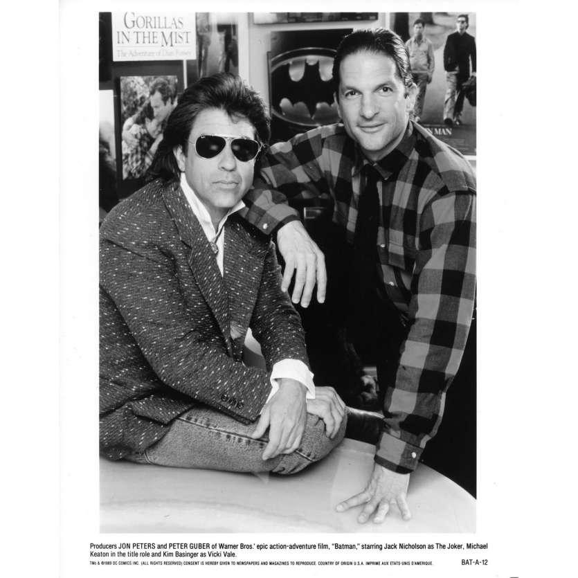 BATMAN Movie Still N09 - 8x10 in. - 1989 - Tim Burton, Jack Nicholson