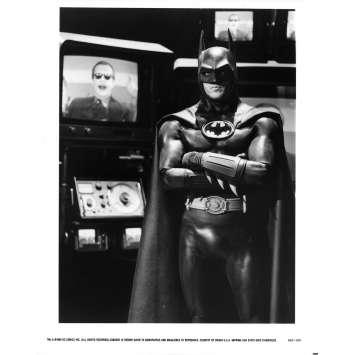BATMAN Photo de presse N08 - 20x25 cm. - 1989 - Jack Nicholson, Tim Burton