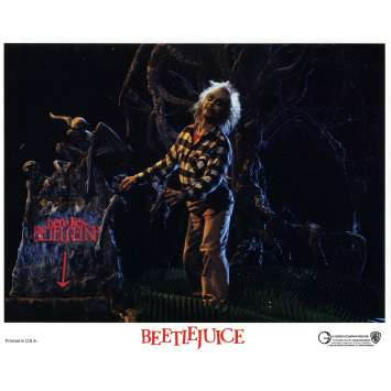 BEETLEJUICE Photo de film N08 - 20x25 cm. - 1988 - Michael Keaton, Tim Burton