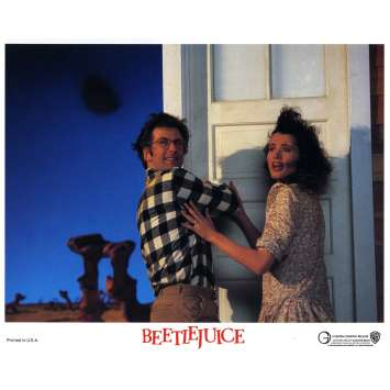 BEETLEJUICE Photo de film N05 - 20x25 cm. - 1988 - Michael Keaton, Tim Burton