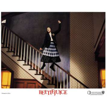 BEETLEJUICE Photo de film N03 - 20x25 cm. - 1988 - Michael Keaton, Tim Burton