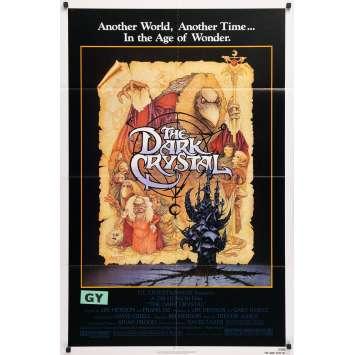 DARK CRYSTAL Affiche de film - 69x102 cm. - 1982 - Franck Oz, Jim Henson