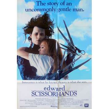EDWARD SCISSORHANDS Movie Poster Style A - 27x40 in. - 1992 - Tim Burton, Johnny Depp