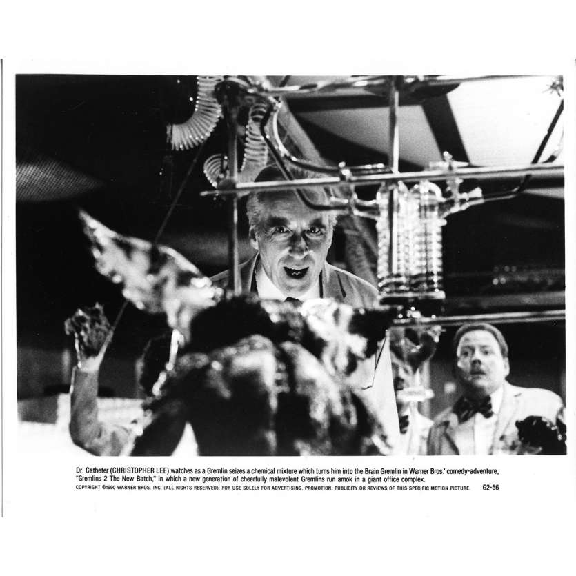 GREMLINS 2 Photo de presse N10 - 20x25 cm. - 1990 - Zach Galligan, Joe Dante