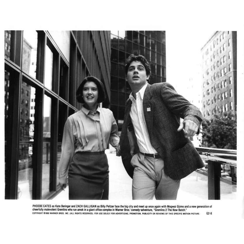 GREMLINS 2 Photo de presse N05 - 20x25 cm. - 1990 - Zach Galligan, Joe Dante