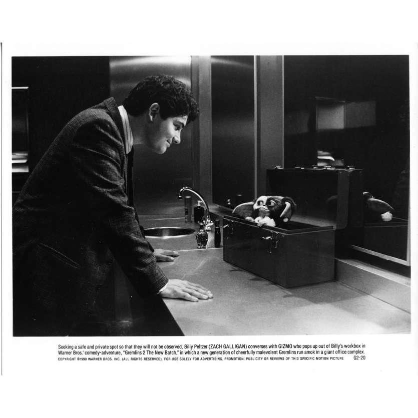GREMLINS 2 Photo de presse N01 - 20x25 cm. - 1990 - Zach Galligan, Joe Dante