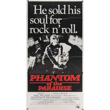 PHANTOM OF THE PARADISE Movie Poster - 41x81 in. - 1974 - Brian de Palma, Paul Williams