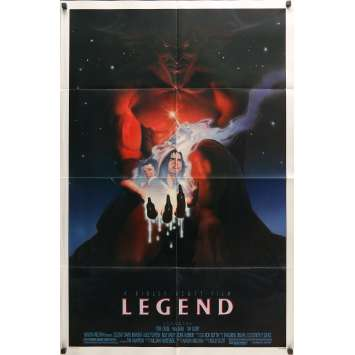 LEGEND Affiche de film - 69x102 cm. - 1986 - Tom Cruise, Ridley Scott