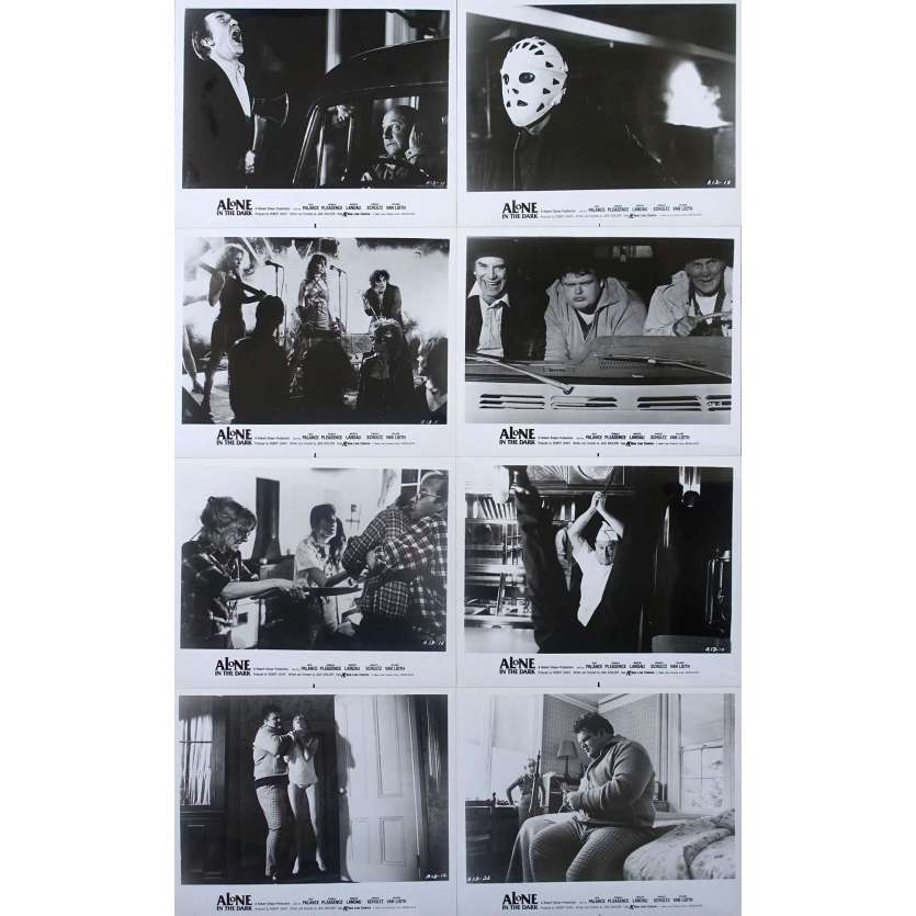 ALONE IN THE DARK Jack Palance Photos de presse (8) USA 1982 Horreur