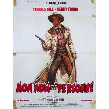 MY NAME IS NOBODY Original Movie Poster - 23x32 in. - 1973 - Tonino Valerii, Henry Fonda, Terence Hill