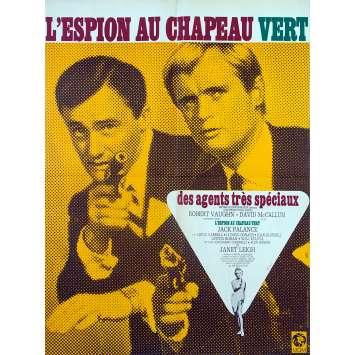 L'ESPION AU CHAPEAU VERT Affiche de film - 60x80 cm. - 1967 - Robert Vaughn, Joseph Sargent