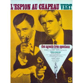 THE SPY IN THE GREEN HAT Original Movie Poster - 23x32 in. - 1967 - Joseph Sargent, Robert Vaughn