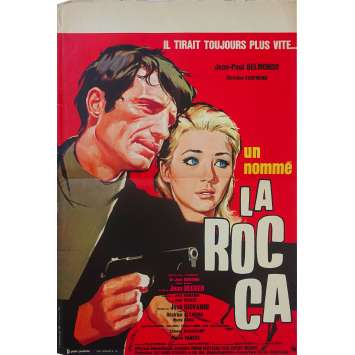 MAN CALLED ROCCA Original Movie Poster - 15x21 in. - 1961 - Jean Becker, Jean-Paul Belmondo