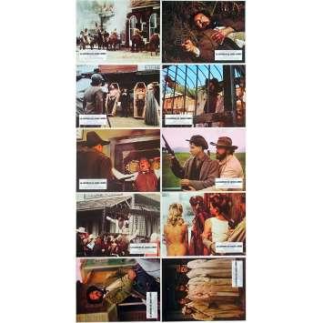 THE GREAT NORTHFIELD MINNESOTA RAID Original Lobby Cards x10 - 9x12 in. - 1972 - Philip Kaufman, Robert Duvall