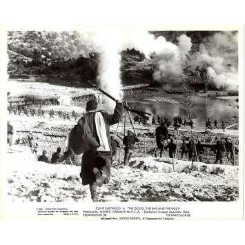LE BON LA BRUTE ET LE TRUAND Photo de presse GUB-UN3 - 20x25 cm. - 1966 - Clint Eastwood, Sergio Leone