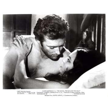 LE BON LA BRUTE ET LE TRUAND Photo de presse GUB-8 - 20x25 cm. - 1966 - Clint Eastwood, Sergio Leone