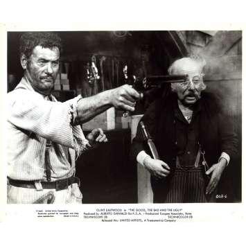 LE BON LA BRUTE ET LE TRUAND Photo de presse GUB-6 - 20x25 cm. - 1966 - Clint Eastwood, Sergio Leone
