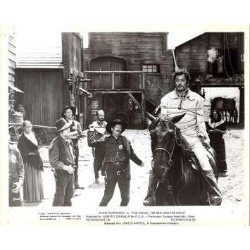 LE BON LA BRUTE ET LE TRUAND Photo de presse GUB-2 - 20x25 cm. - 1966 - Clint Eastwood, Sergio Leone