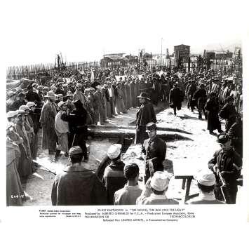 LE BON LA BRUTE ET LE TRUAND Photo de presse GUB-15 - 20x25 cm. - 1966 - Clint Eastwood, Sergio Leone