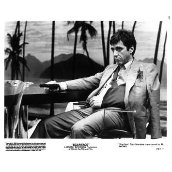 SCARFACE Photo de presse 2154-14 - 20x25 cm. - 1983 - Al Pacino, Brian de Palma