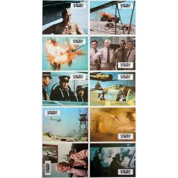 LA BATAILLE DE MIDWAY Photos de film x10 - 21x30 cm. - 1976 - Charlton Heston, Jack Smight