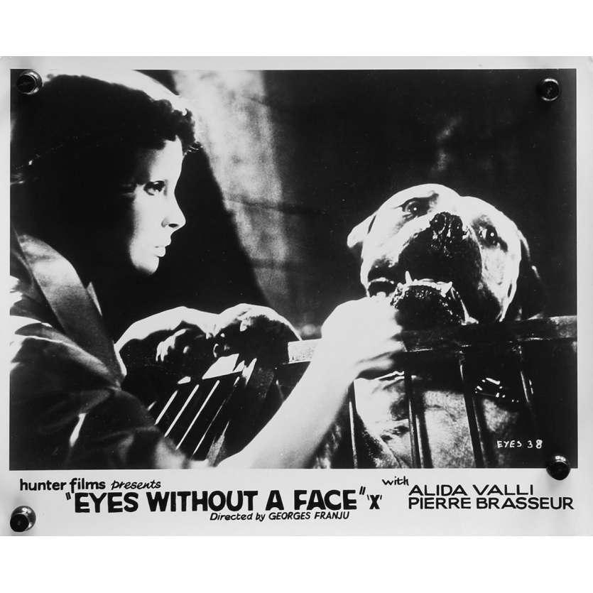 LES YEUX SANS VISAGE Photo de presse N02 - 20x25 cm. - 1960 - Alida Valli, Pierre Brasseur, Georges Franju