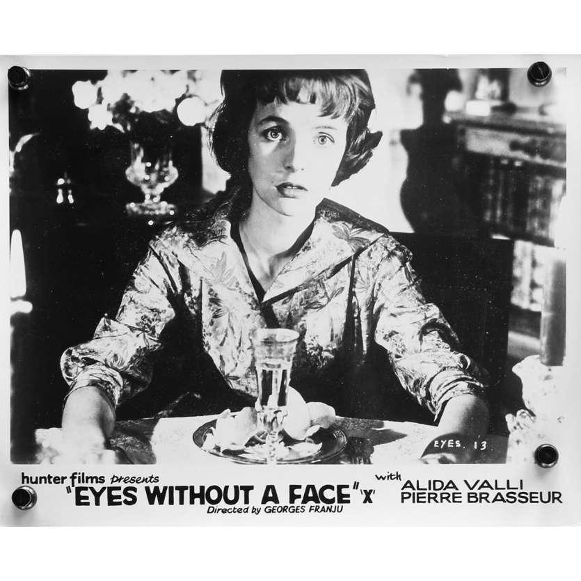 LES YEUX SANS VISAGE Photo de presse N01 - 20x25 cm. - 1960 - Alida Valli, Pierre Brasseur, Georges Franju
