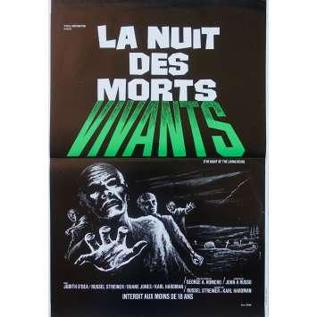 LA NUIT DES MORTS VIVANTS Affiche de film - 40x60 cm. - 1968 - Duane Jones, George A. Romero