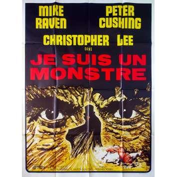 JE SUIS UN MONSTRE Affiche de film - 120x160 cm. - 1971 - Christopher Lee, Peter Cushing, Stephen Weeks