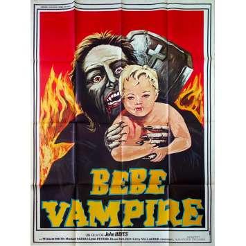 BEBE VAMPIRE Affiche de film - 120x160 cm. - 1972 - William Smith, John Hayes