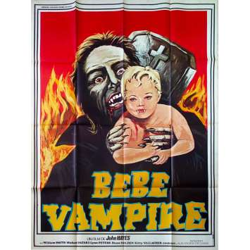 GRAVE OF THE VAMPIRE Movie Poster - 47x63 in. - 1972 - John Hayes, William Smith